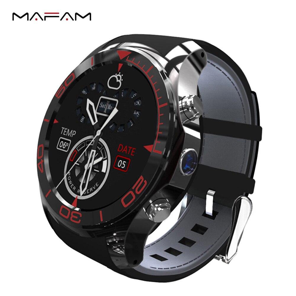 imágenes para Teléfono androide 3G Muñeca Smartwatch Bluetooth 4.0 MP Cámara de WiFi GPS 1.2 GHz 512 MB 4G SIM Tarjeta de Llamada de Marcación Reloj Inteligente S1