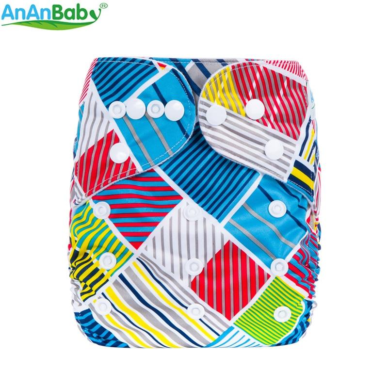 Šarene ispisuje tkanina pelene za višekratnu bebu pelene sve u - Pelene i toaletni trening - Foto 5