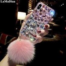 Coque de téléphone pour Huawei P8 P9 P10 P20 P30 P40 PLUS Lite Mate10 20 30 Pro Lite Bling strass sangle housse de téléphone