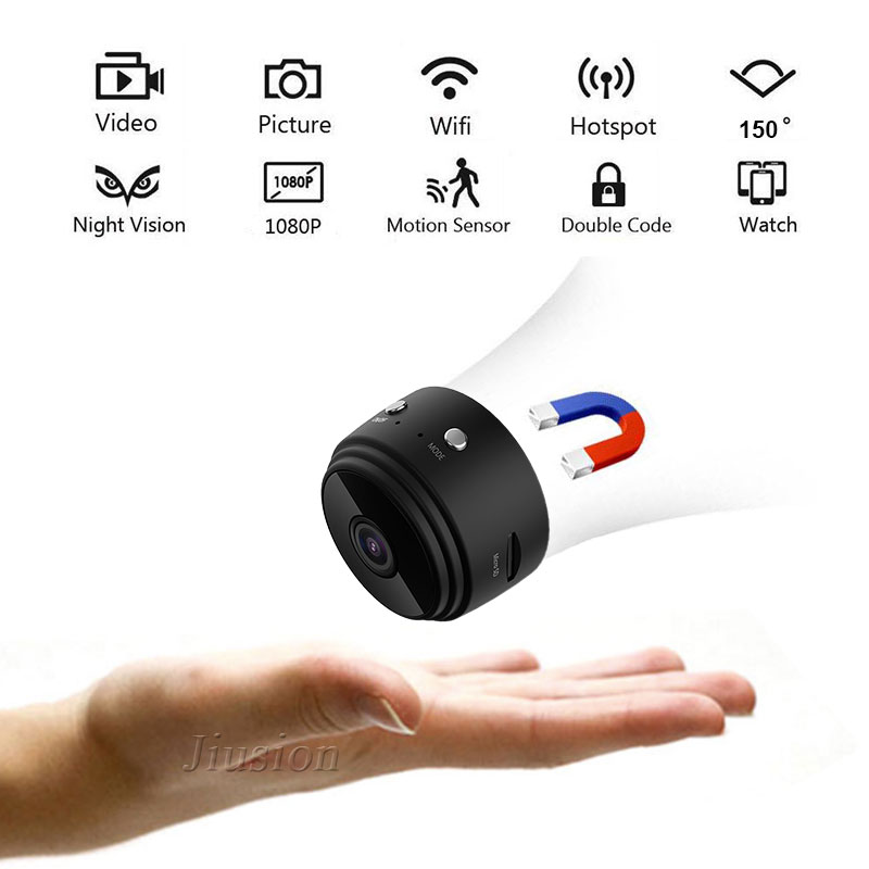 A9 Wifi Mini Camera 1080P Full HD Camcorder IP P2P Wireless Micro Cam IR Night Vision