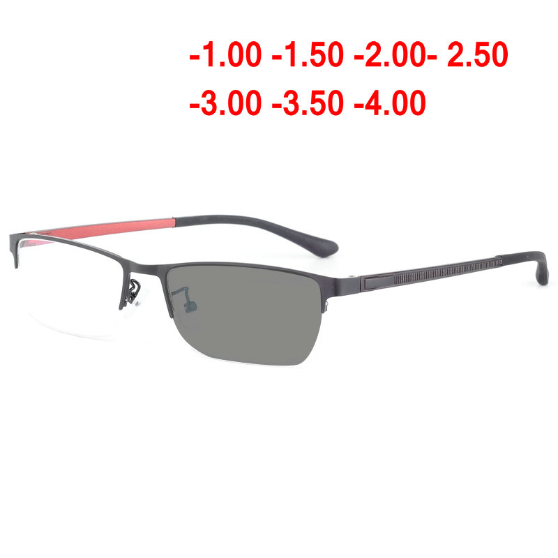 8468df310f5 2018 new transition sun photochromic Spectacle Eyeglasses Men Computer  Optical Glasses Myopia Frame With box NX -in Eyewear Frames from Men s  Clothing ...