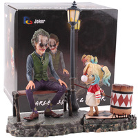 DC Joker Suicide Squad Harley Quinn & Joker Action Figure PVC Joker and Harley Quinn Doll Collectible Model Toy Set