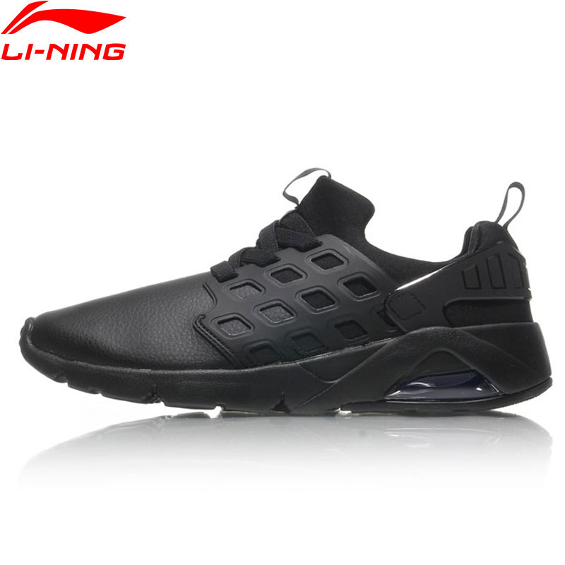 Li-Ning Bubble Ace Walking Shoes Men Sneakers LiNing Breathable MONO YARN Sports Shoes AGLM019 YXB077 li ning brand men basketball shoes sonicv series professional camouflage sneakers support lining breathable sports shoes abam019