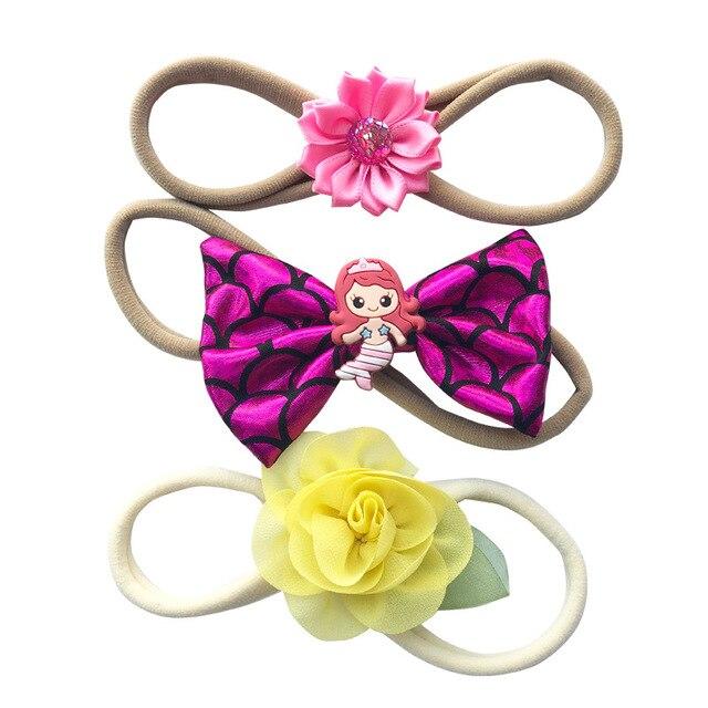 2018 nuevas flores de los bebés elástico venda principal del pelo  accesorios para niños diadema tocado a140cd615ca6
