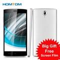 "2016 Nueva llegada Homtom HT7 Pro 5.5 ""HD MTK6735P Smartphone Quad Core Android 5.1 Teléfono RAM 2G + ROM16G 4G LTE Teléfono Móvil Del SIM Dual"