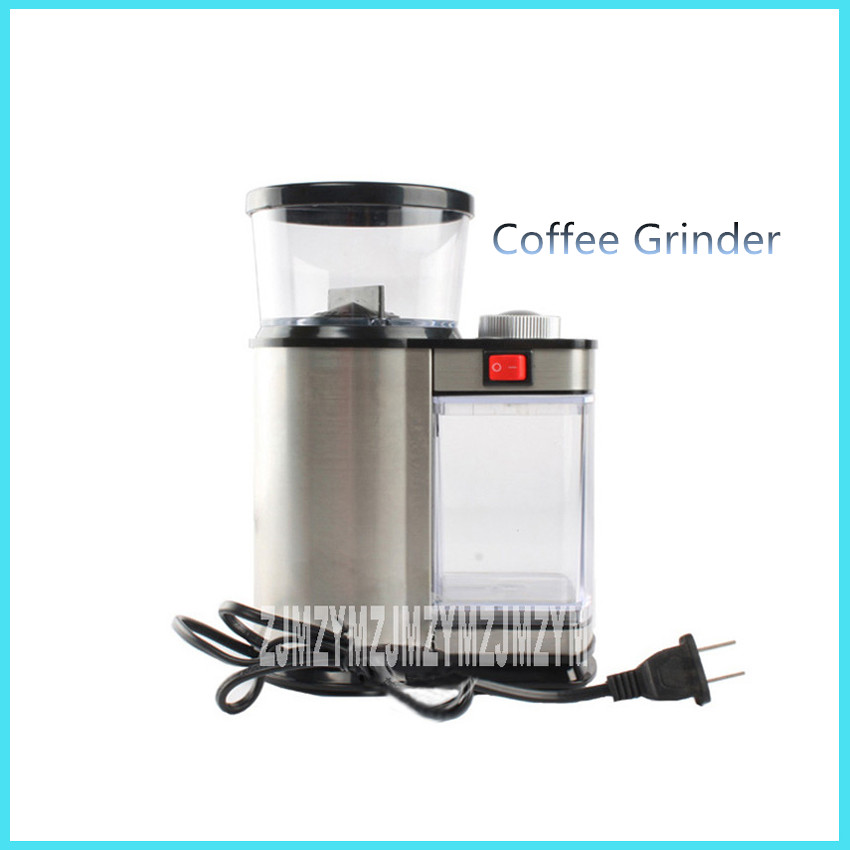 High Quality  Electric coffee grinder 9 level Adjustable coffee beans grinding machine Coffee Grinder Makers 75W 100G mdj d4072 professional commercial household coffee grinder high quality electric coffee machine advanced grinding 220v 150w 30g page 9