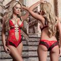 Women lingerie sexy hot costumes transparent lace sexy lingerie set teddy sexy underwear erotic lingerie babydoll