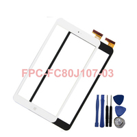 New 8 Touch Screen For Onda V820W Wins Chuwi Vi8 Tablet FPC FC80J107 03 Capacitive