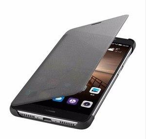 Image 3 - Voor Huawei Mate 9 Case Officiële intelligente Smart View Vindow PU Leather Case Voor Huawei Mate 9 Flip Cover Volledige beschermende Gevallen