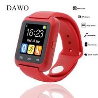 Smartwatch Bluetooth Smart Watch U80 For Android Smart Phone Wear Clock Wearable Device Smartwach PK U8