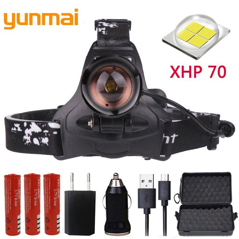 Z22 Litwod 2806 32W chip XHP70 Headlight 32000lum powerful Led headlamp zoom Head light head lamp