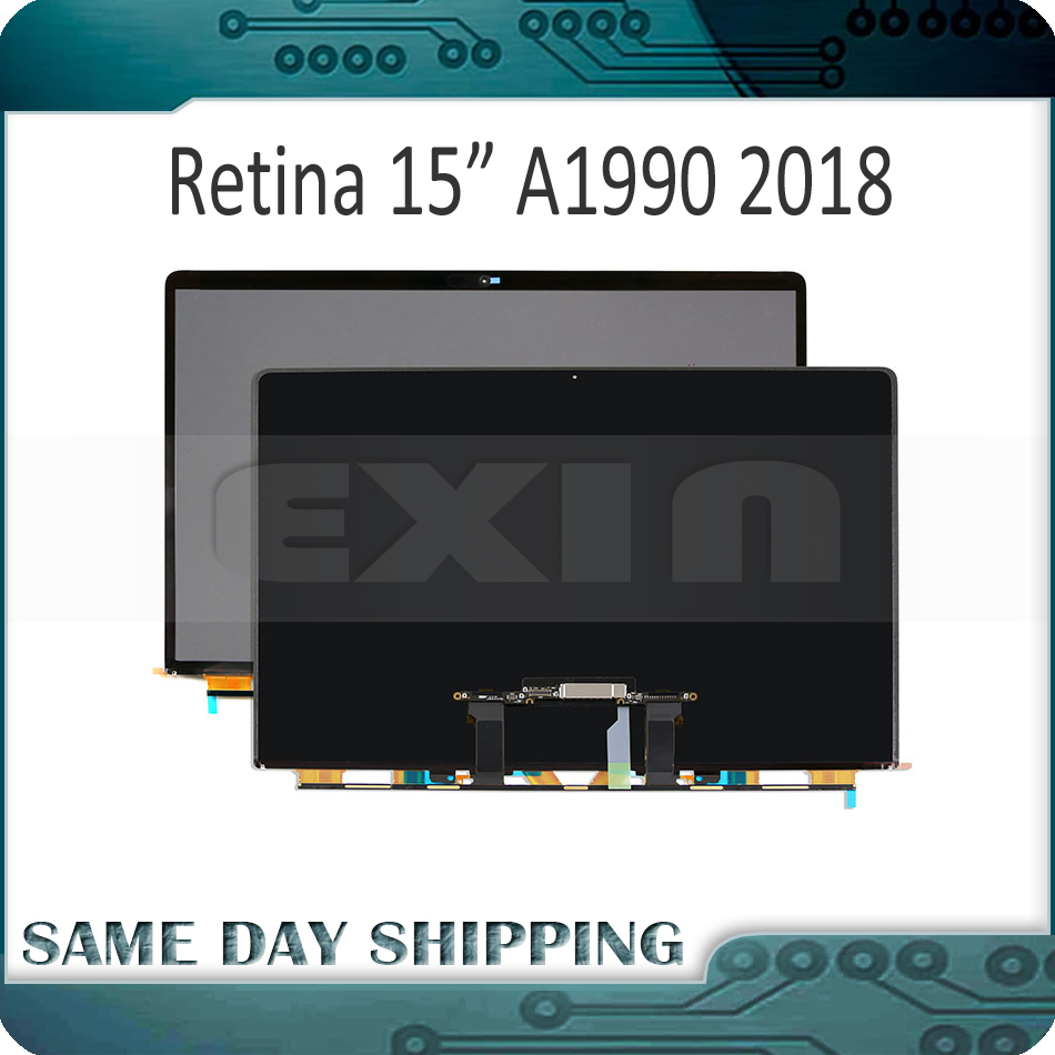 New for Apple Macbook Pro Retina 15.4 A1990 LCD Display Screen Panel LP154WT5 SJA1 MR932 MR942 EMC 3215 Mid 2018 Year original new laptop a1990 lcd lp154wt5 sja1 for apple macbook pro retina 15 a1990 lcd led screen display mid 2018 year