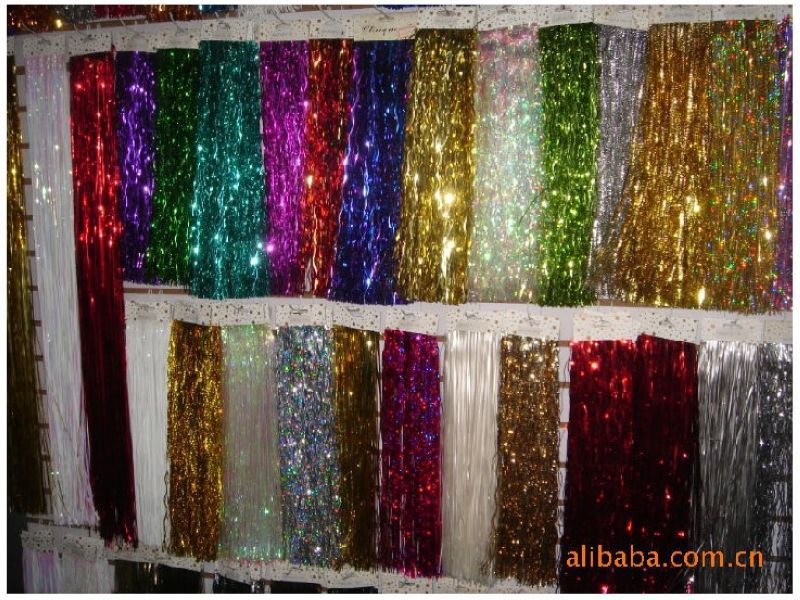 christmas tinsel icicles foil on aliexpresscom alibaba group