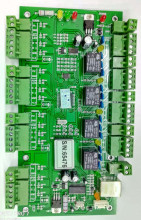TCP/IP Entry Attendance Access Control Board Panel For 4 Door 4 Reader Cheap & stable Access Control Panel Controller System