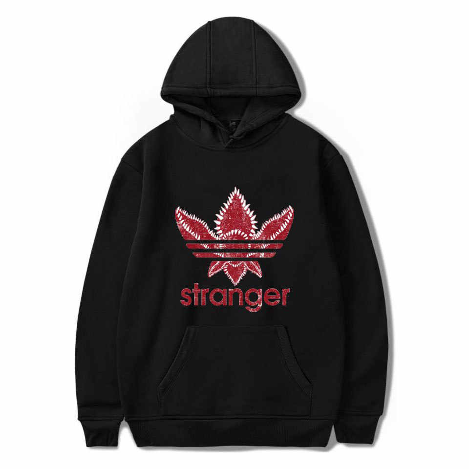 Autumn Streetwear Women Sweatshirt Stranger Things Hoodies Men Long Sleeve Unisex Hip Hop Clothing