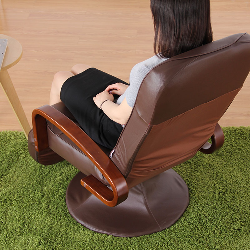 Aliexpresscom Buy Computer Chair Leather Brown 360 Degree