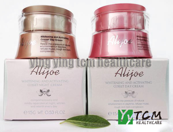 ФОТО ALIJOE whitening and activating cosset day cream+night cream for face skin care