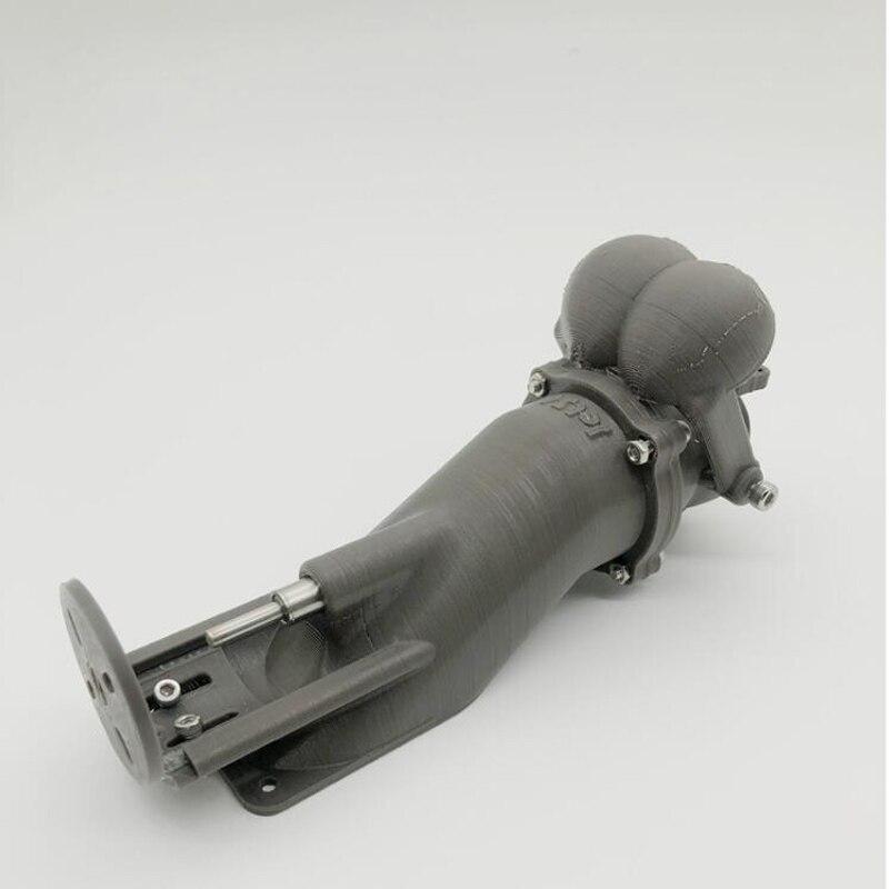 Oyuncaklar ve Hobi Ürünleri'ten Parçalar ve Aksesuarlar'de 1 adet DIY Uzaktan Kumanda Tekne Aksesuarları 36mm Sprey Su Itici su püskürtme pompası Pervane Kiti 3D Baskı w/Geri Vites'da  Grup 2