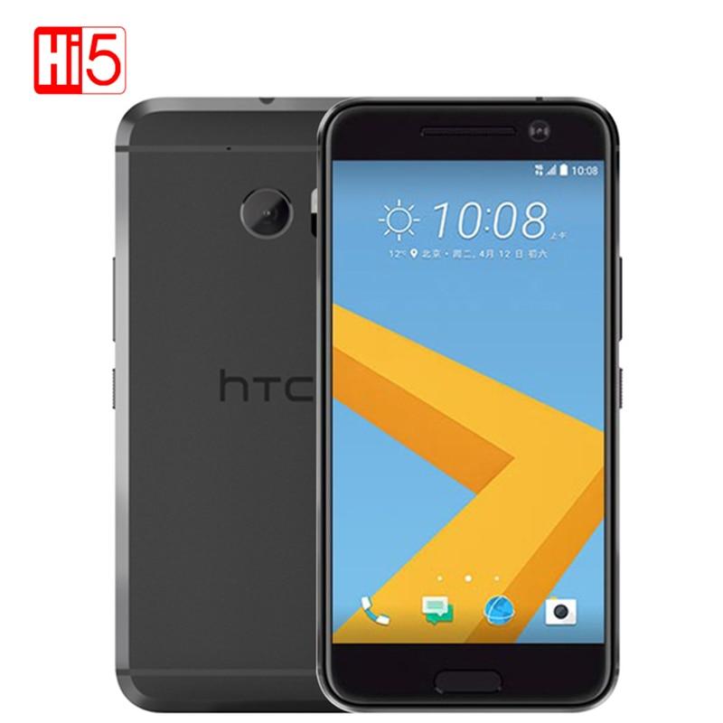 "Unlocked HTC 10 M10 mobile phone 5.2"" inch 32GB ROM 3GB RAM Snapdragon MSM8976 Octa Core Fingerprint 3000mAh 4G LTE Smartphone"