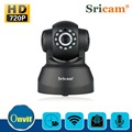 Sricam Wireless IP Camera Indoor Home WiFi Night Vision Baby Monitor CCTV IR Webcam 11 LEDs AU Plug Black
