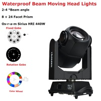 440W 20R Beam Spot Moving Head Lights Beam 440W Beam 20R Waterproof Moving Head Stage Lights IP65 For Outdoor Dj Lighting Shows