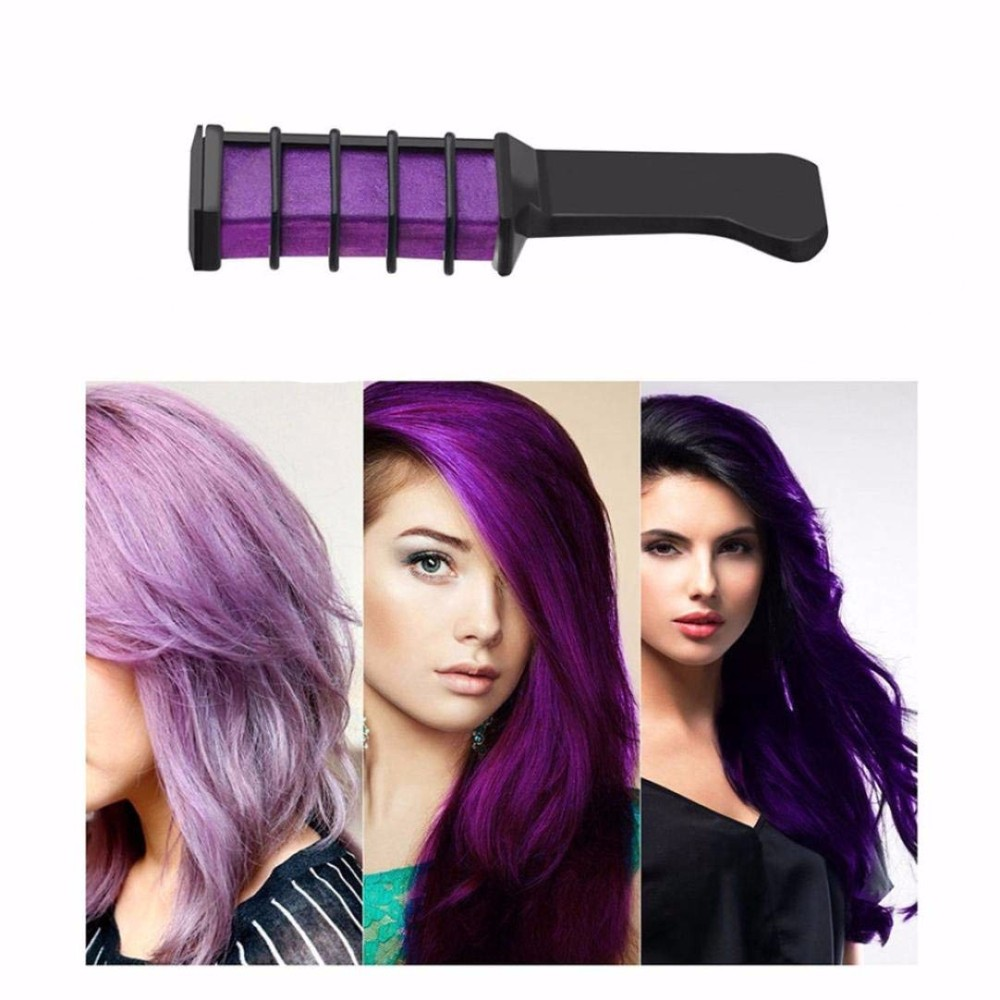 hot 6 colors mini hair dye comb
