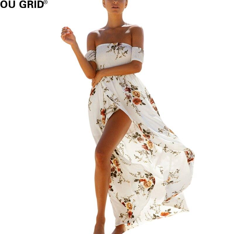 Розділене сексуальне пляжне плаття - Жіночий одяг