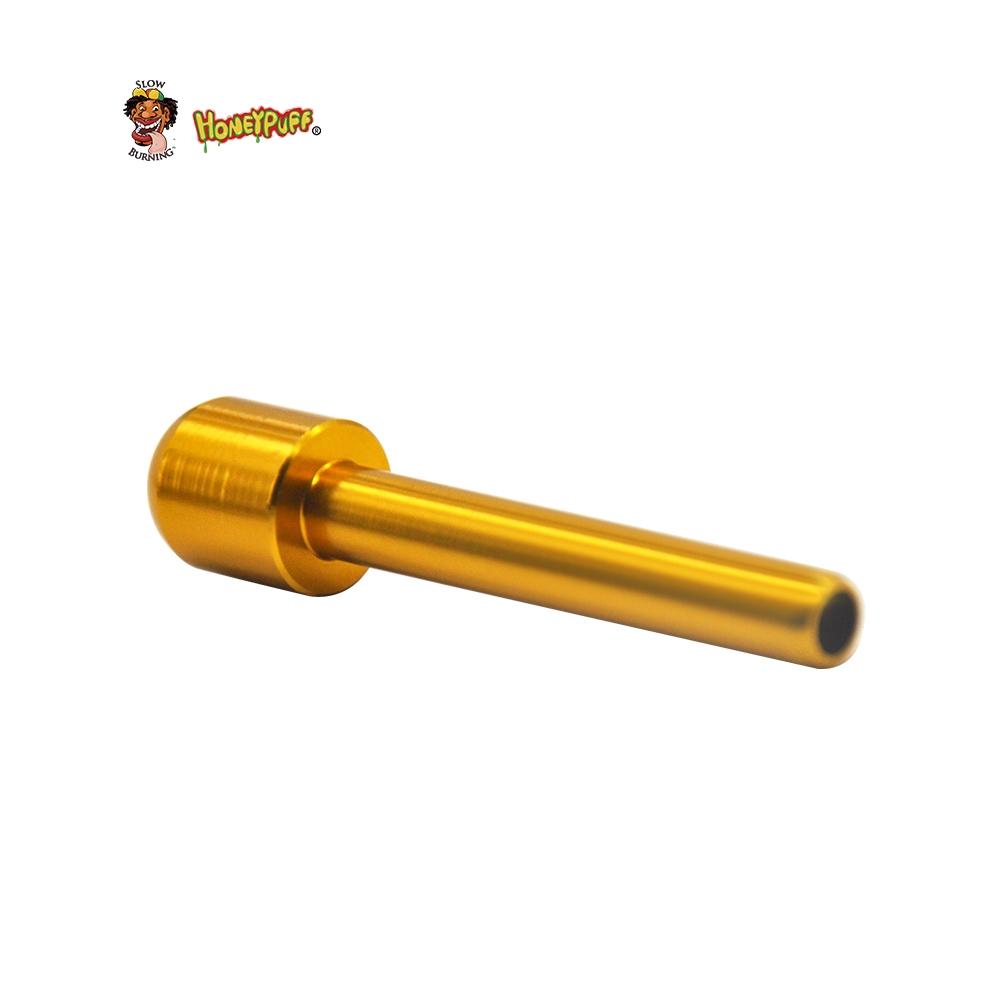 US $1 04 Aluminum Alloy Sniffer 70mm Snuff Straw Snorter