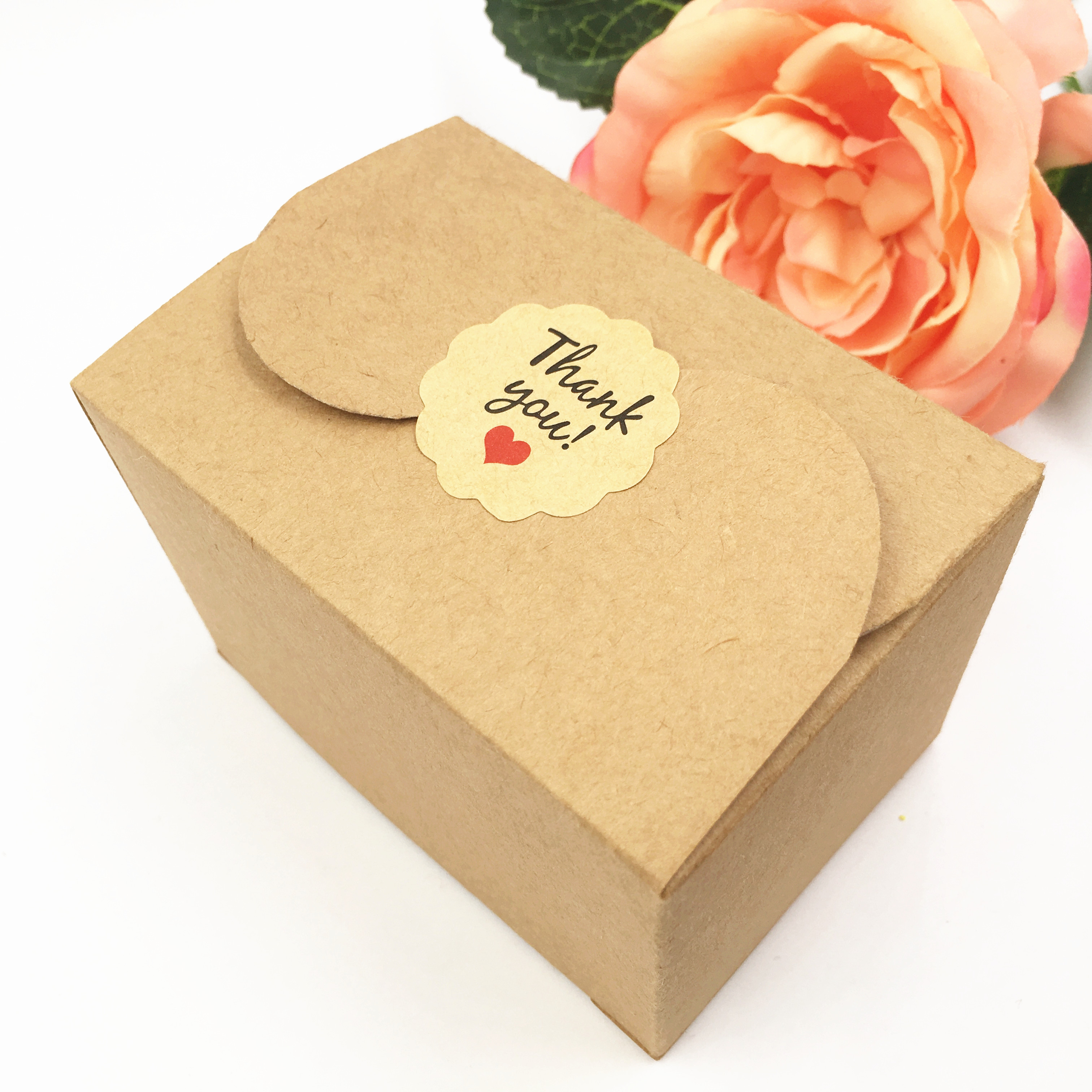 Free Shipping 5piece/pack Natural Kraft Packing Box To Pack Small Handmade Soap ,Ring,Cake And Candy Wedding Favor