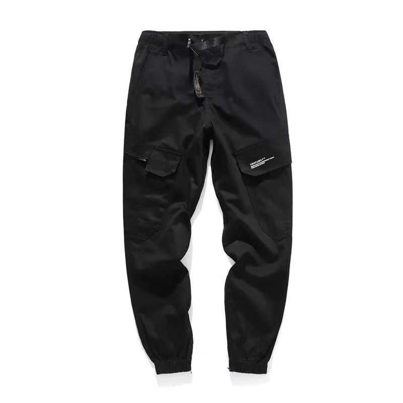Mode Streetwear Männer Jeans Camouflage Military Armee Hosen Lose Fit Große Tasche Cargo Hosen Männer Hip Hop Joggers Hosen hombre
