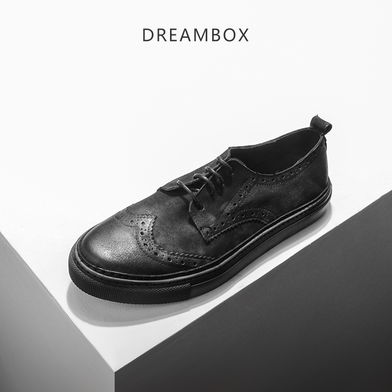 dreambox The British summer fashion leather shoes retro old shoes casual shoes dirty shoes dreambox 800 hd крайот
