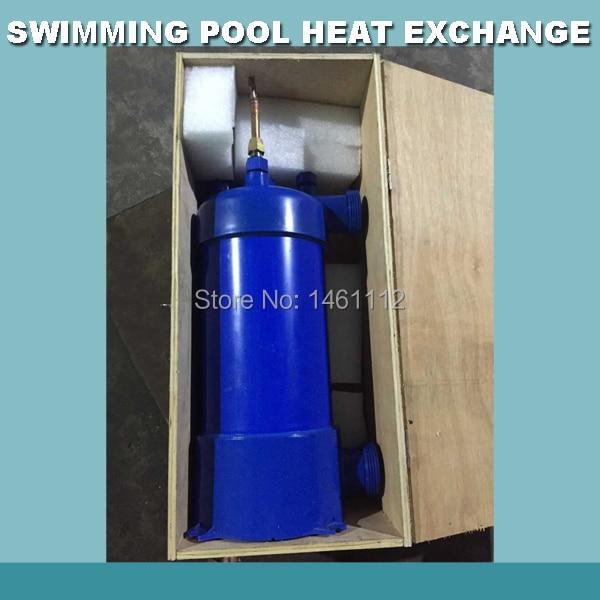 7.8KW/26600Btu радиатор водяного отопления, бассейн титановый конденсатор