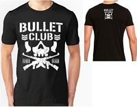 Bullet Club T Shirt Top Nuovo Giappone Pro Wrestling T Shirt Dalla S Alla 2XL Print
