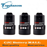 3PCS High Quality 10 8V Li Ion 1 5Ah Power Tool Rechargeable Battery For Bosch BAT411