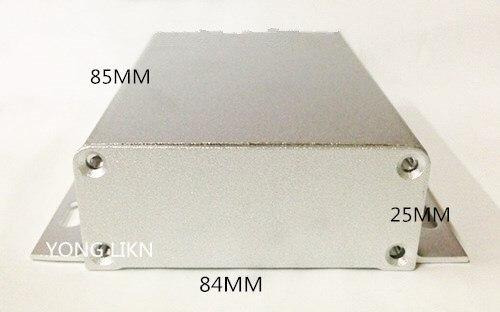 1 Piese Aluminium Box/sender Gehäuse/aluminium 84*25-85 Digitale Wandlerkabelkabel Shell