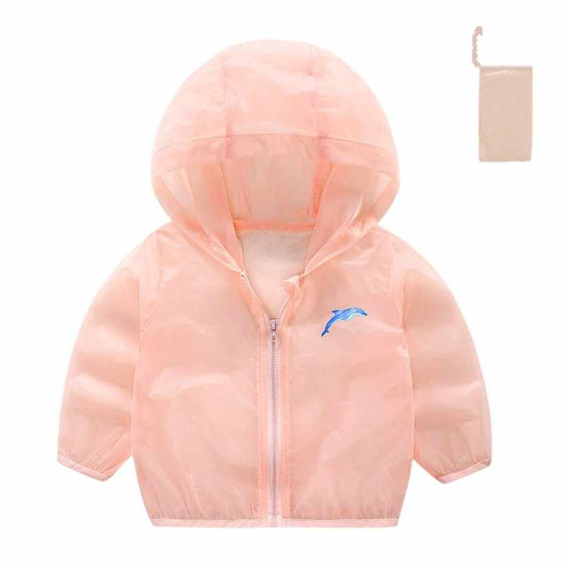2018 nuevo bebé niña protección solar ropa verano nueva floral luz transpirable abrigo ropa de protección solar