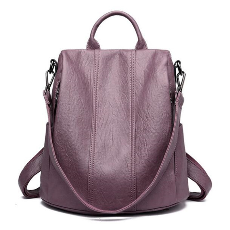 2019 New Women Backpack Designer Genuine Leather Women Bag Fashion School Bags Large Capacity Backpacks Travel Shoulder Bags2019 New Women Backpack Designer Genuine Leather Women Bag Fashion School Bags Large Capacity Backpacks Travel Shoulder Bags