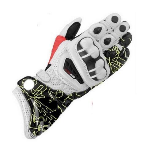 2018 nouveaux gants longs en cuir Alpin GP PRO moto course conduite GP PRO moto gants en peau de vache d'origine