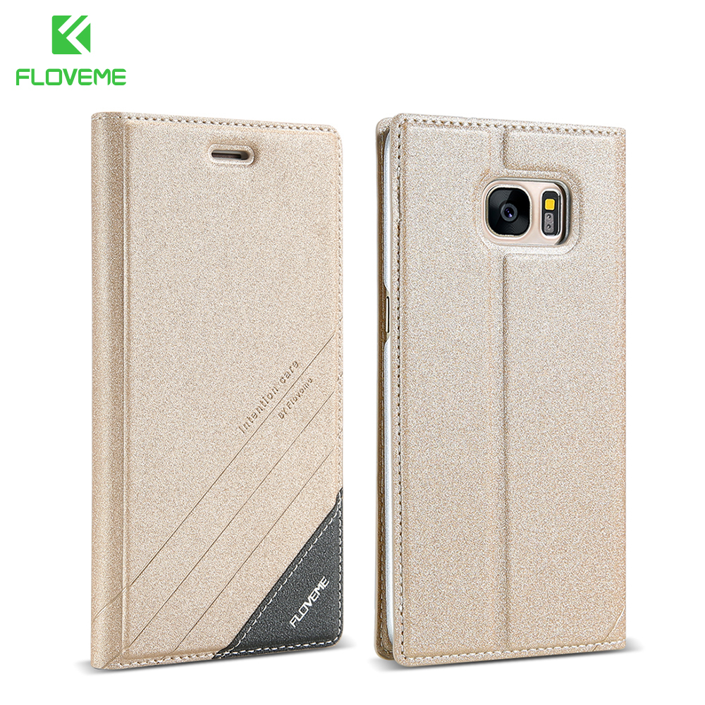 FLOVEME PU Leather Flip Cover For Samsung Galaxy S5 S6 Edge Plus Case Card Slot Stand Protect Case For Samsung...  samsung note 5 case | The Best Samsung Galaxy Note 5 Cases From Spigen FLOVEME PU Leather Flip Cover For font b Samsung b font Galaxy S5 S6 Edge Plus