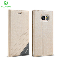 S5 Flip Case Original PU Leather Cover For Samsung Galaxy S5 SV I9600 Card Slot Stand