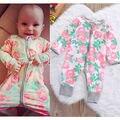 2016 New Autumn One-piece Newborn Kids Baby Boy Girl Infant Romper Jumpsuit Bodysuit Clothes Outfit Set