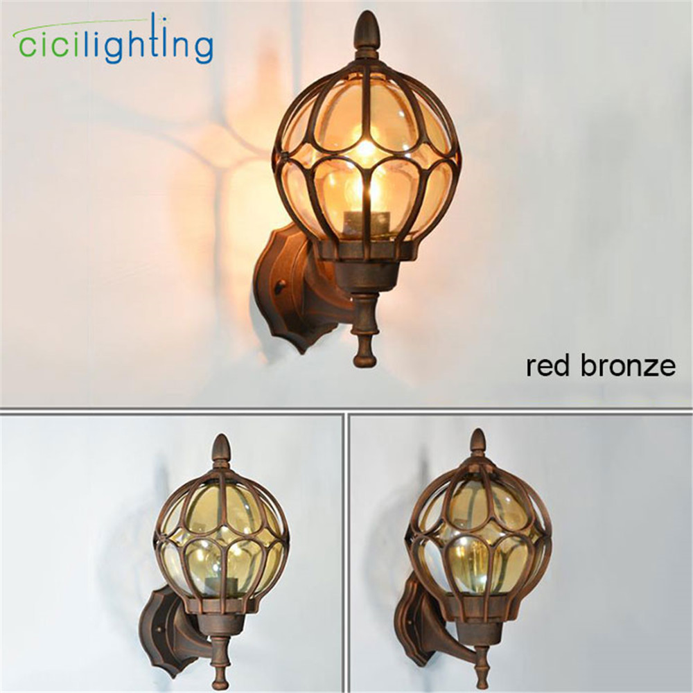 European wall lamp outdoor porch lights villa balcony garden lamps ...
