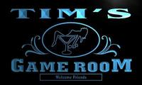 X0174 Tm Tim S Game Room Cocktail Lounge Custom Personalized Name Neon Sign Wholesale Dropshipping