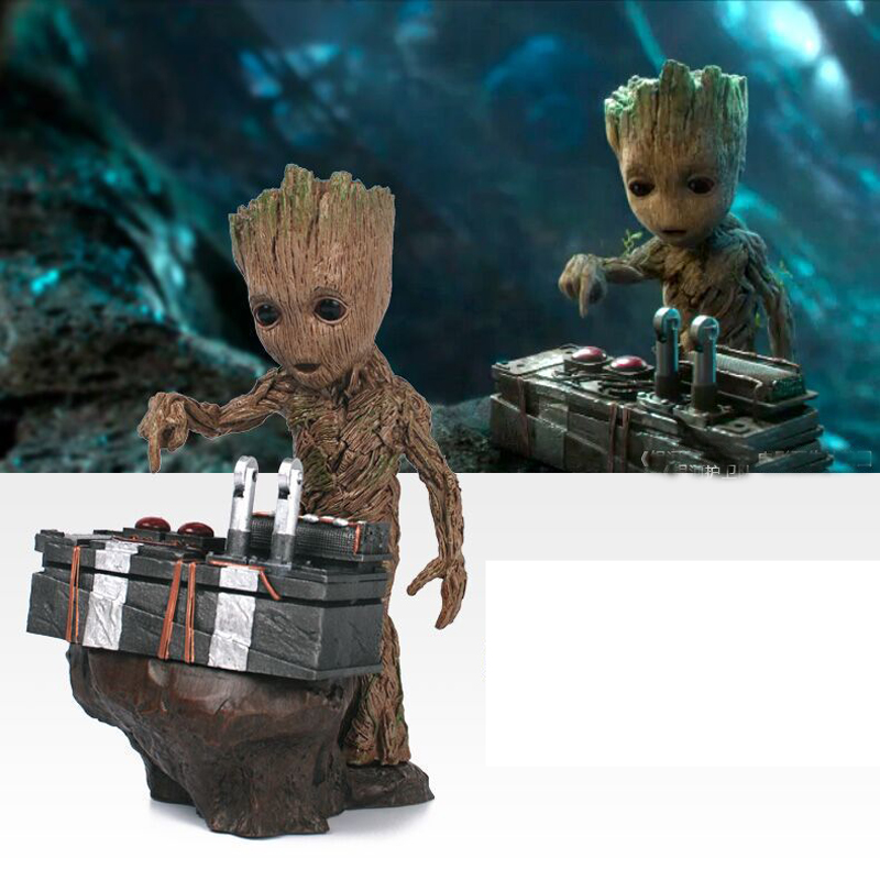 Guardians of the Galaxy 2 DJ Tree Man Statue Action Figure Collectible Model Toy 17cm baby Resin with box