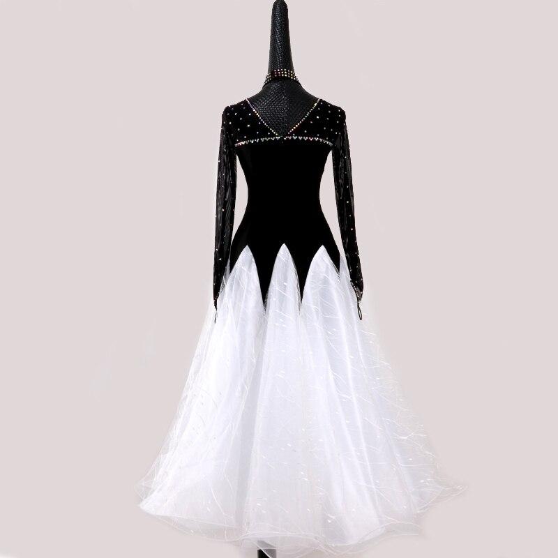 0f5e88bf96 Baile Flamenco Falda de baile faldas damas vals moderno estándar Tango danza  trajes para las mujeres