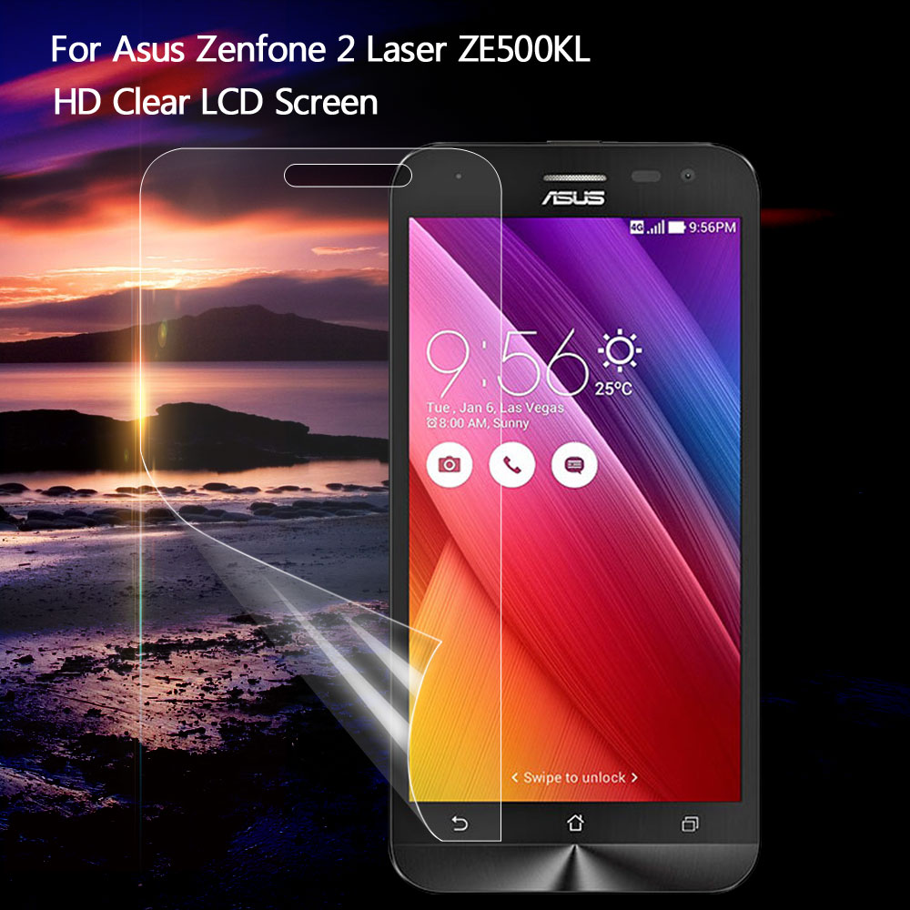 Shenzhen TVCMALL Co., Ltd. Store HD Clear LCD Screen Protector Film for Asus Zenfone 2 Laser ZE500KL Z00ED (5.0 inch)