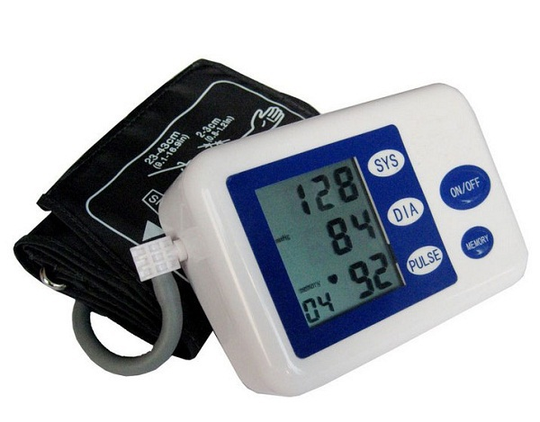 Automatic Healthy Digital LCD Portable Home Care Wrist Blood Pressure Monitor Gauge Tester Heart Beat Meter - Y-C Technology store