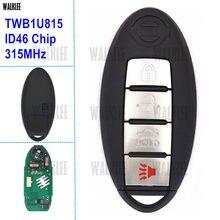 Terno chave inteligente remoto de walklee para nissan sunny teana sylphy sentra versa número de modelo: twb1u815 fcc id: cwtwb1u815