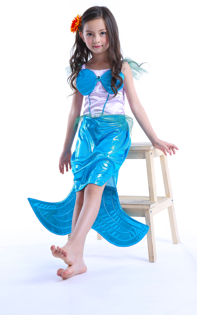 kids halloween costumes mermaid cosplay brand 2017 party dresses for ...