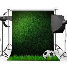 Football Backdrop Indoor Stadium Green Grass Meadow Wallpaper